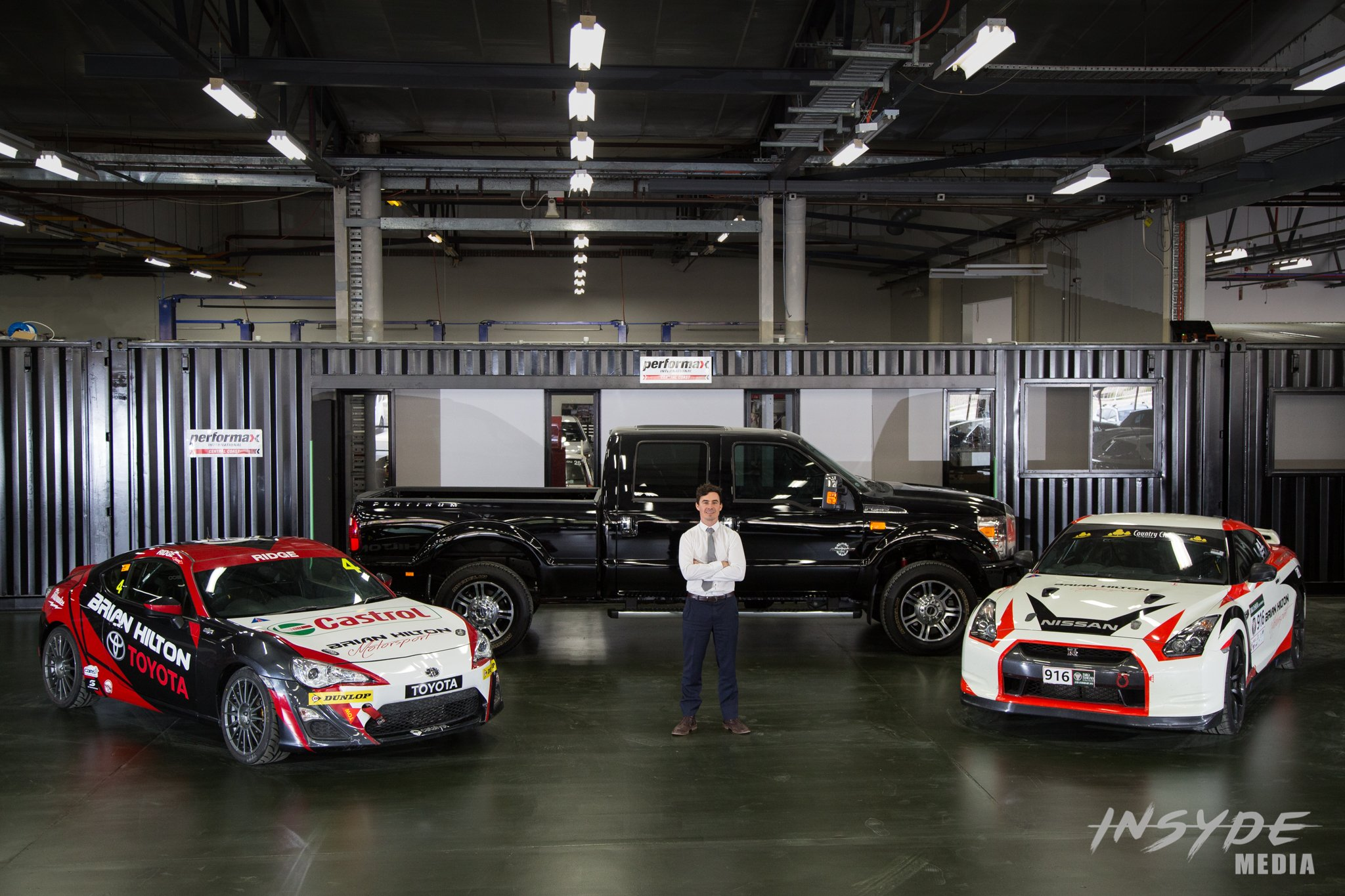 Brian Hilton Motorsport Launch