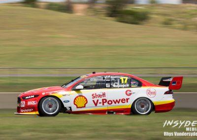 Virgin Australia Supercars Dunlop Tyre Test at Sydney Motorsport Park for 2017