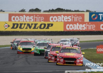 Virgin Australia Supercars Round 3 for 2017 at Phillip Island