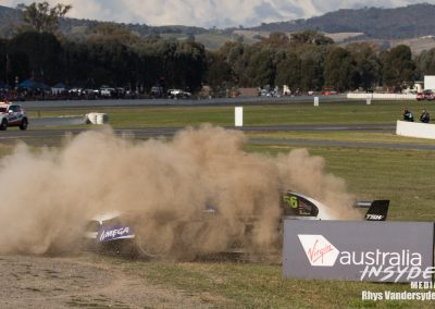 Virgin Australia Supercars Round 5 for 2017 at Winton Raceway Benalla