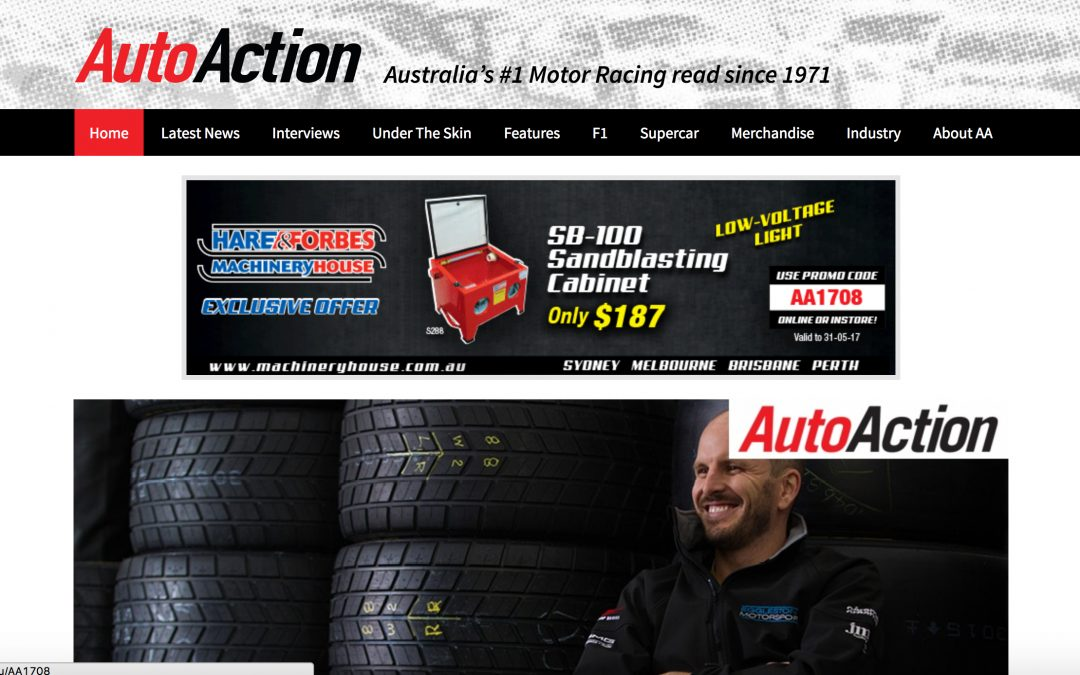 Web & Social: Building Auto Action's Digital Presence