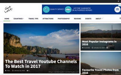 Web & Social: Got Lost! Website