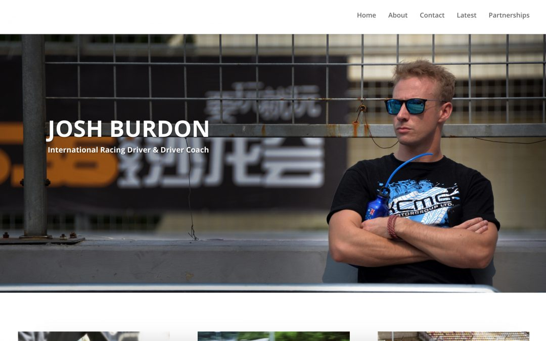 Web & Social: Josh Burdon's Website
