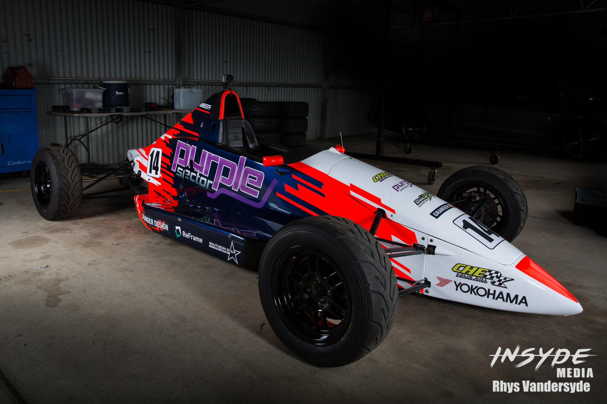 Photo Shoot: Lachlan Mineeff livery launch