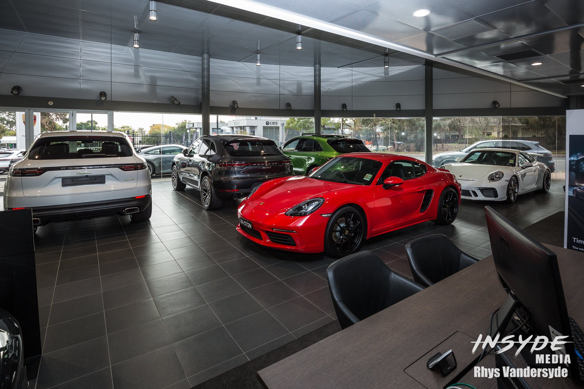 Photo Shoot: Porsche Center Adelaide