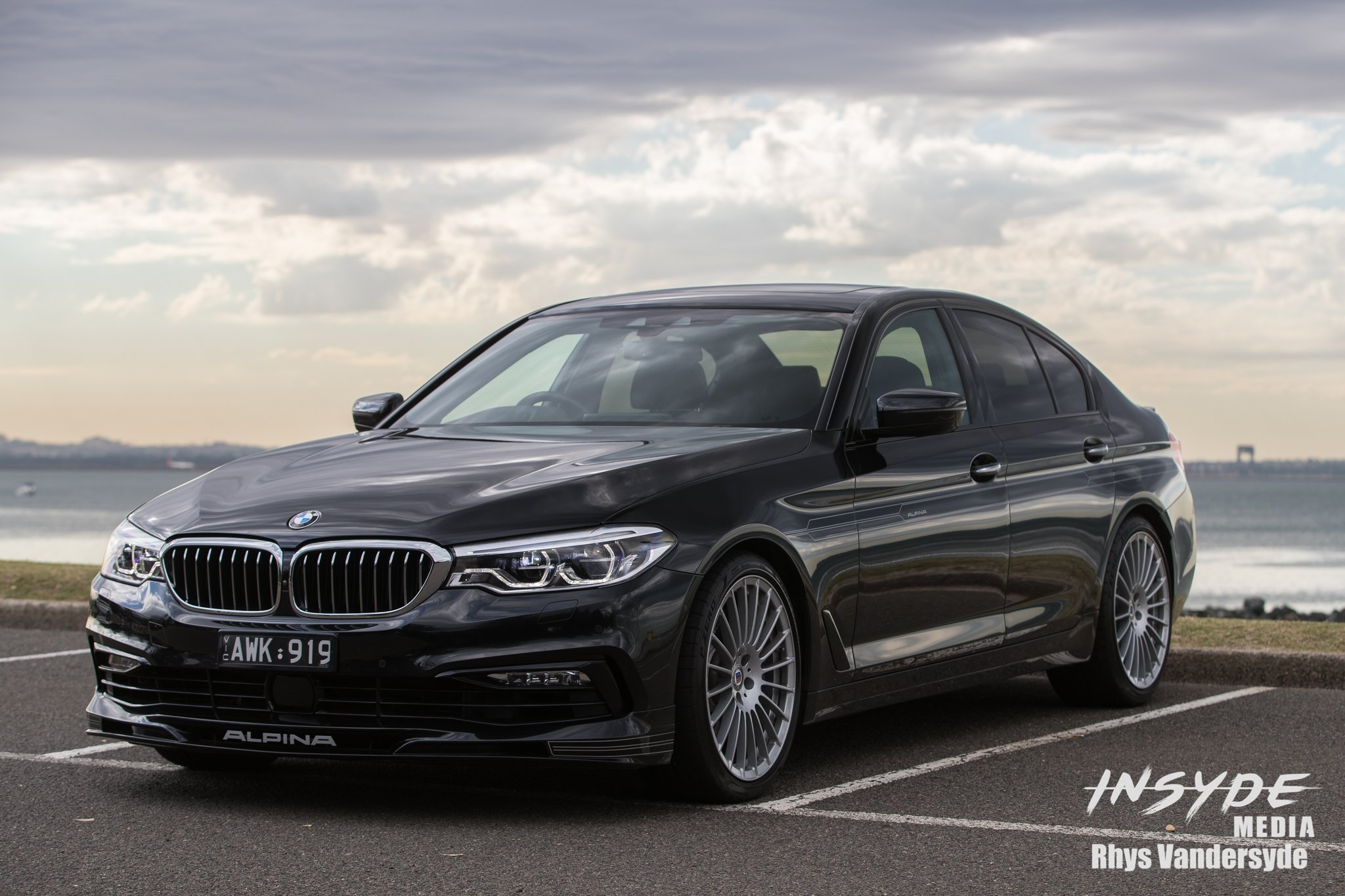 Photo Shoot: BMW Alpina B5
