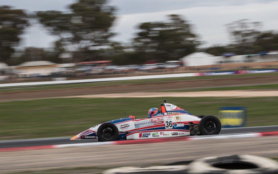 Cody Burcher ready for penultimate Australian Formula Ford round
