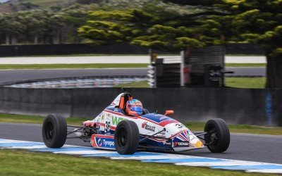 Cody Burcher stoked with progress during debut Australian Formula Ford season