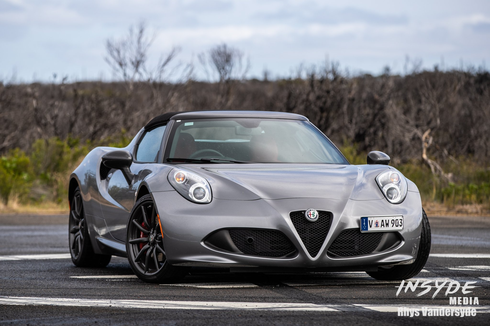 Photo Shoot: Alfa Romeo 4C