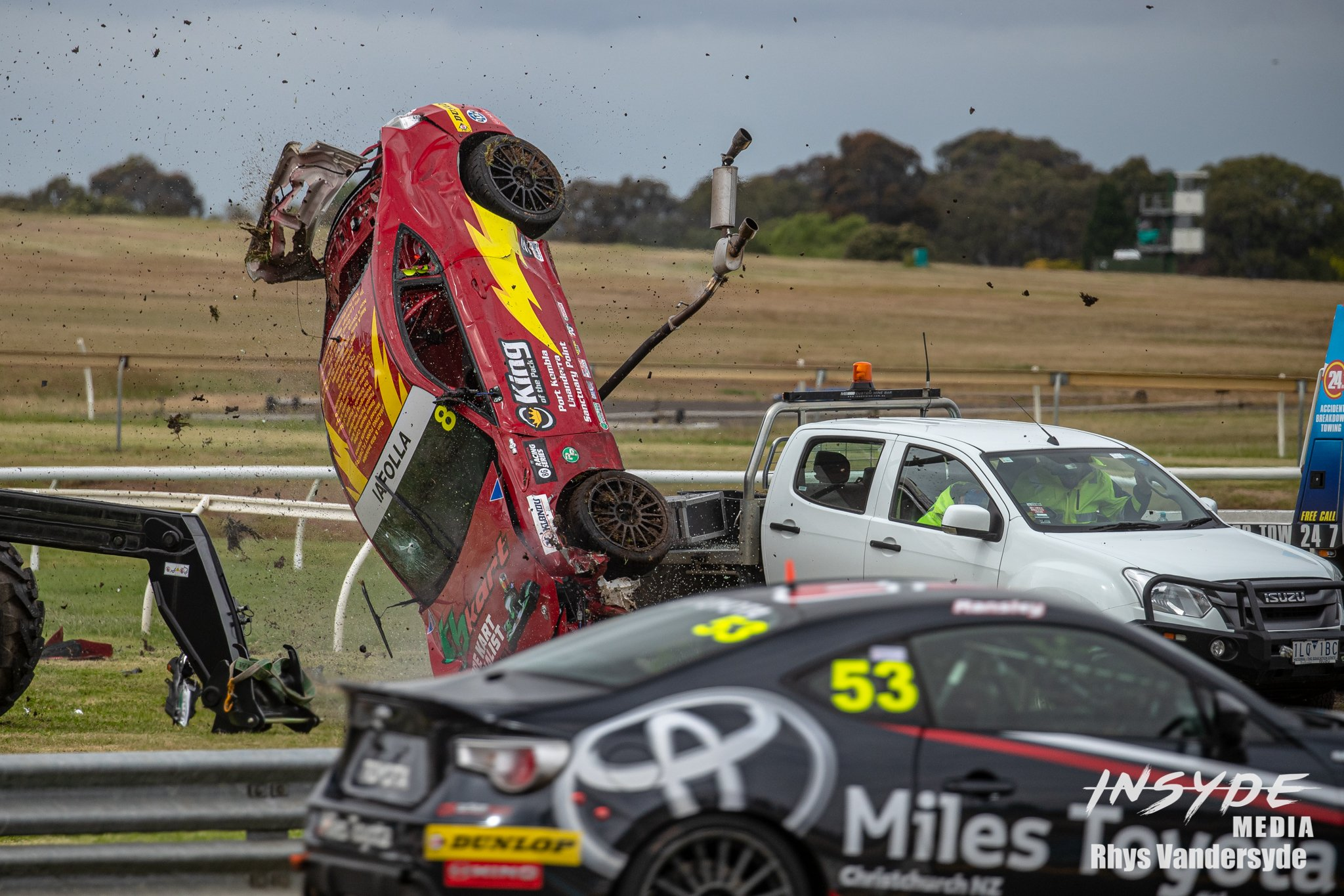 T86RS Rollover Sandown