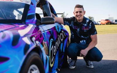 Cody McKay racing at a national level for the first time in Aussie Racing Cars